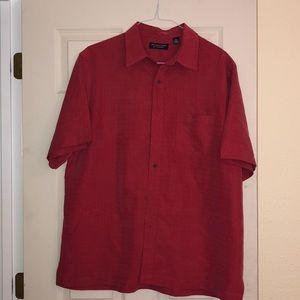 Men's Red Shirt Size XL